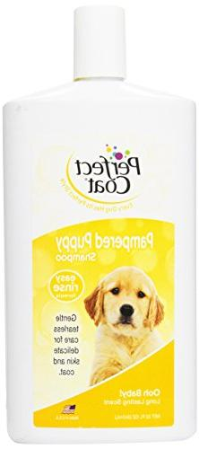Perfect Coat Puppy Shampoo, Baby Powder Scent, 32-Ounce