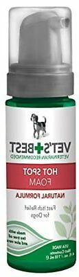 Vet's Best Quick Relief Hot Spot Foam For Dogs, 4 oz