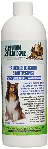 Nature's Specialties Quicker Slicker Concentrate Pet Conditi