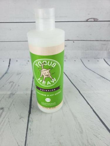 relaxing dog shampoo and conditioner 16oz green