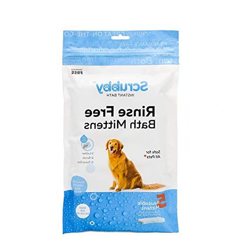 rinse pet wipes use