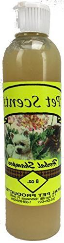 Pet Scents Herbal Shampoo-8oz-