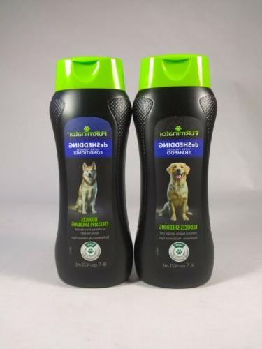 SET: FURminator Dog Shampoo And Conditioner Fl. Oz. Made In U.S.A.