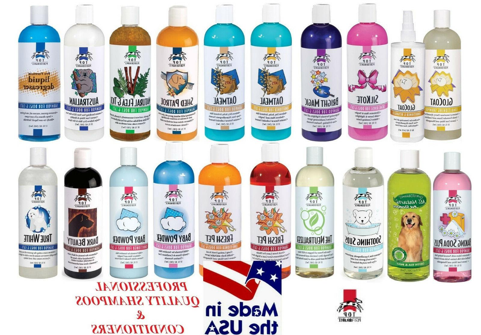 pro quality pet dog cat grooming shampoos