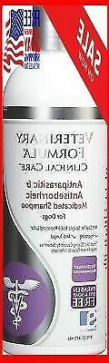shampoos antiparasitic medicated dog cat skin