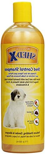 SynergyLabs Shed-X Shed Control Shampoo for Dogs; 17 fl. oz.