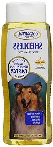 Gold Medal Pets Shed Less Shampoo  with Cardoplex for Dogs,