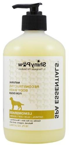 Shiny Paw® All-Natural Oatmeal and Lemongrass Spa Essential
