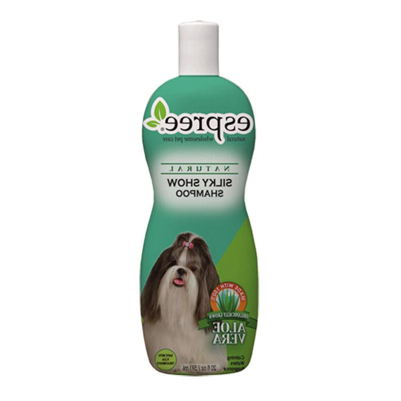 silky show dog wash pet grooming natural