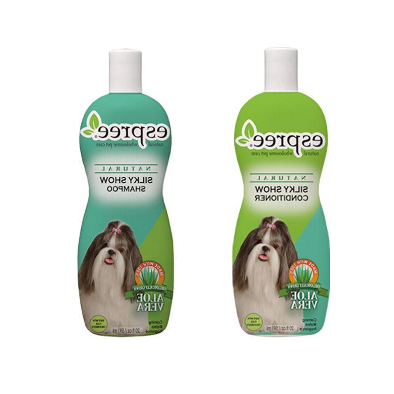 silky show shampoo and conditioner dog wash