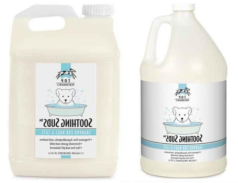 Soothing Suds Pet Shampoo Dog Cat Sensitive Skin Concentrate