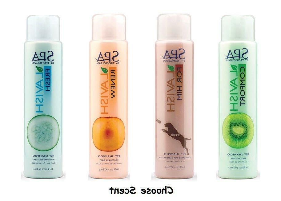spa dog gentle shampoo nourishing lavish all
