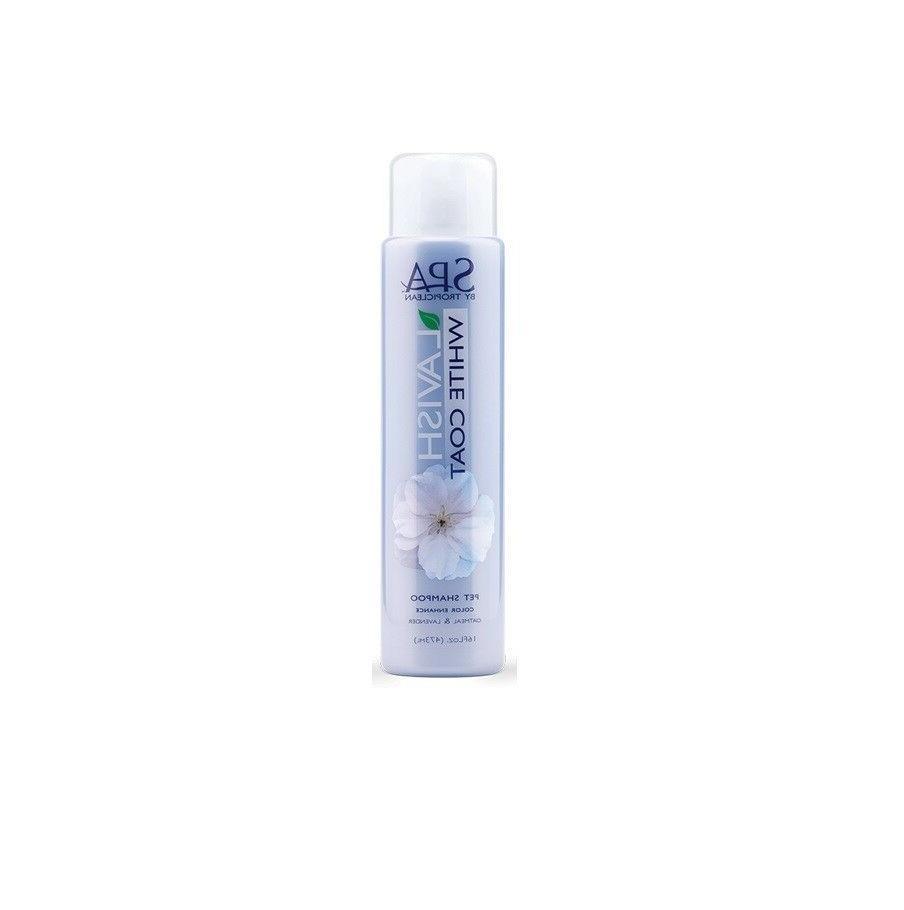 SPA  White Coat Shampoo for Dog - 16oz Bright shine Beautifu