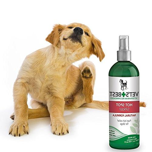 Vet's Dog Spot Relief | Soothes Skin, Itchy and Hot | Formulated Fast, Relief Ounces