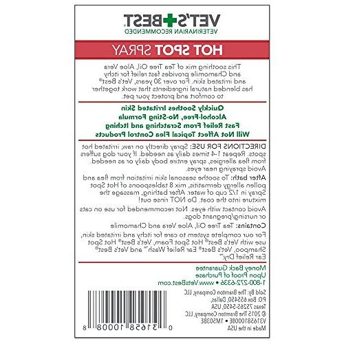 Spot | Dog Skin, Itchy Skin, Hot Spots | Vet Formulated Fast, No-sting Relief |