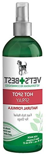 Vet's Best Dog Hot Spot Itch Relief Spray | Soothes Dog Dr