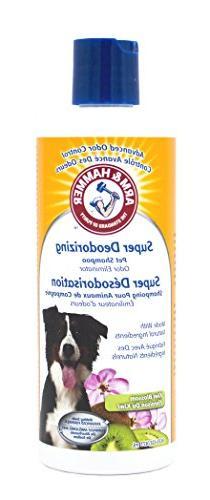 Arm & Hammer Super Deodorizing Shampoo for Dogs | Best Odor