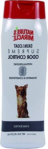 supreme odor control hypoallergenic dog