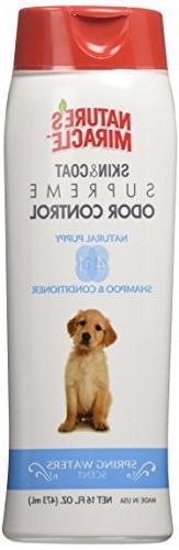 supreme odor control puppy shampoo