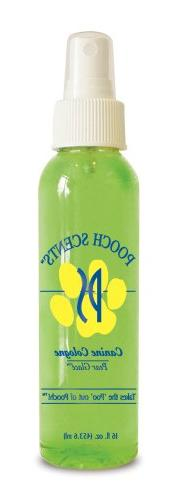 Synergy Pooch Scents Canine Cologne Pear Glace, 4.3 Ounce