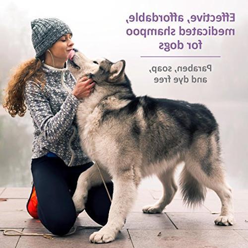 Veterinary Formula Care Antiparasitic Shampoo for Dogs,
