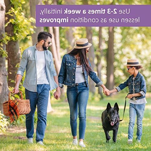 Veterinary Formula Antiparasitic and Antiseborrheic Shampoo for Dogs, Fluid