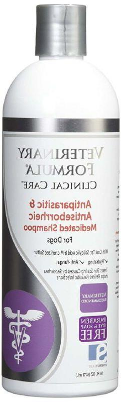 Medicated Shampoo For Mange Mites Ticks Fleas Skin