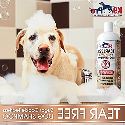 K9 Tear Dog Vet Formula For Dogs With Allergies And Itchy Skin - Soothing and Your Sugar Scent
