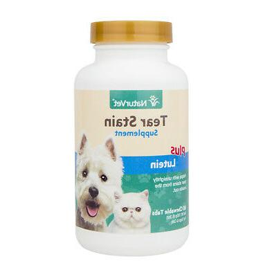 tear stain supplement plus lutein