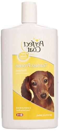 Perfect Coat Tearless Protein Shampoo for Dogs, 32-Ounce, Su