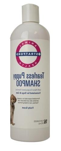 Stratford Tearless Puppy Shampoo, Fruity Scent, 16 oz