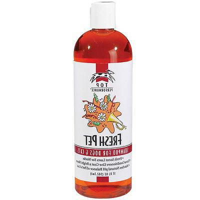 top quality professional fresh pet scent shampoo