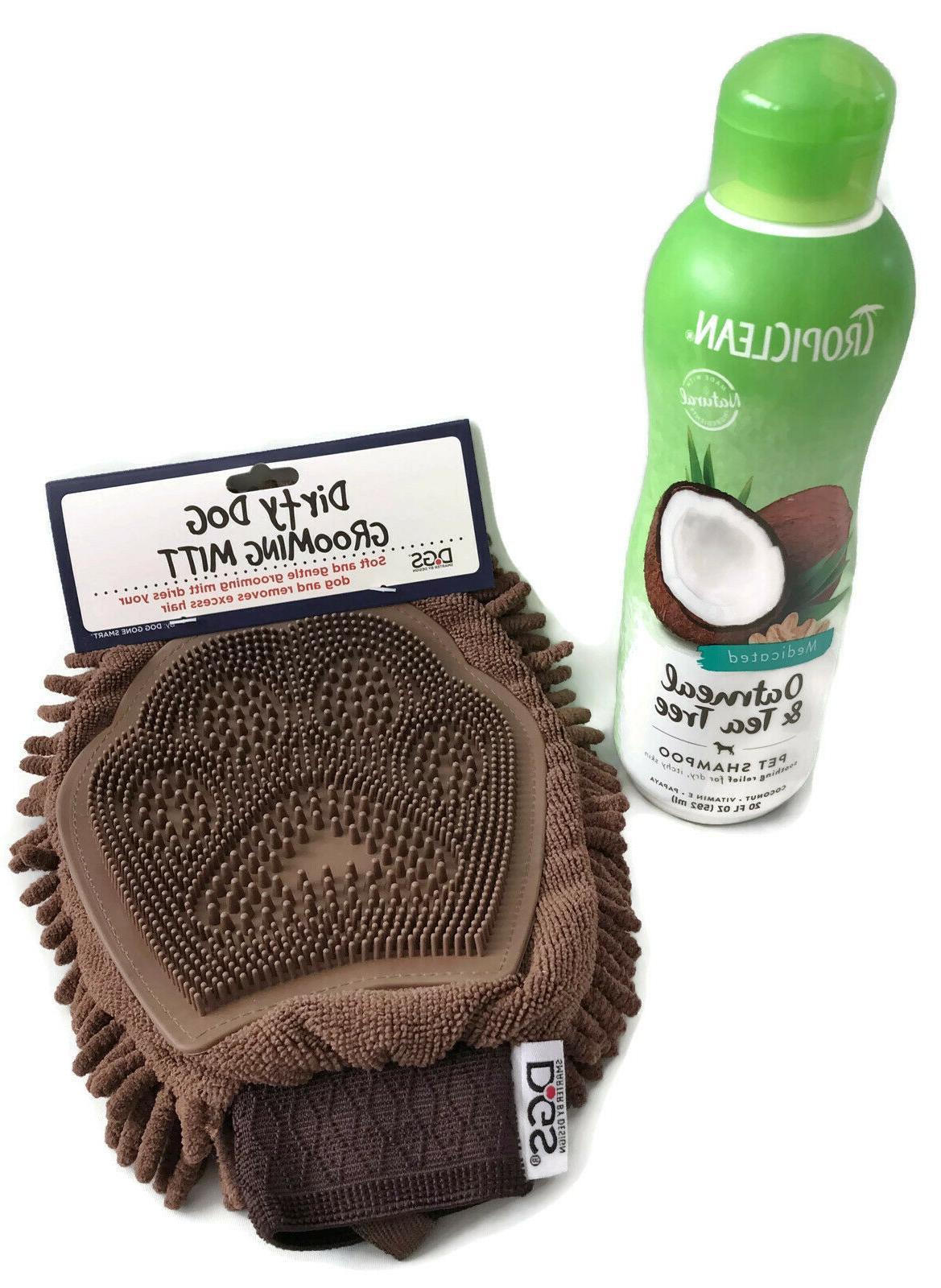 tropiclean dog shampoo oatmeal and tea tree