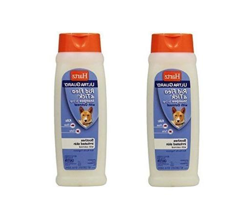 HARTZ UltraGuard Rid Flea & Tick Shampoo for Dogs, 18 Ounce