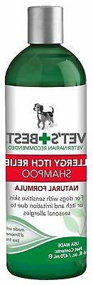 vet s best allergy itch relief dog