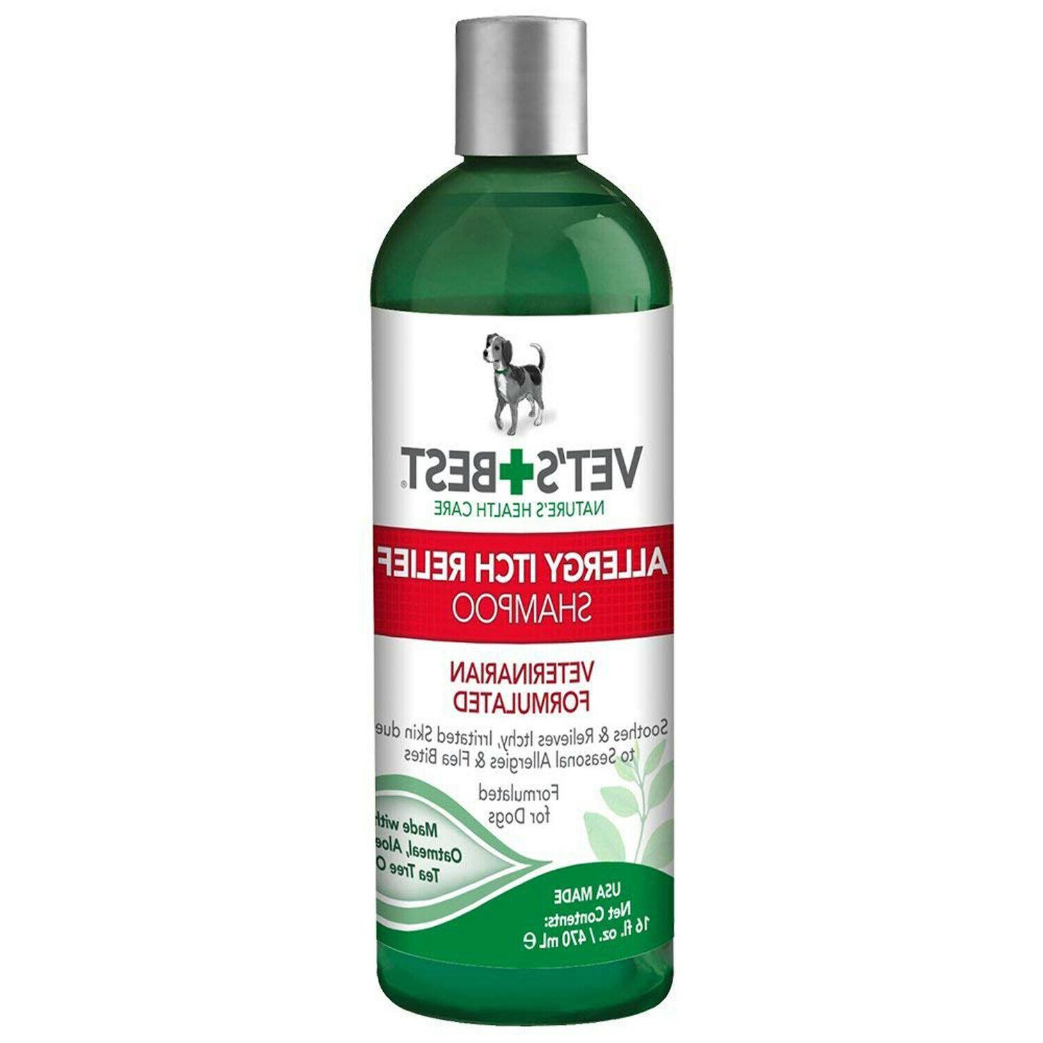 Vet's Best Allergy Relief Dog Itch Relief Shampoo , 16 Ounce