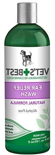 Vet's Best Dog Ear Relief Wash, 16 oz by Vet's Best