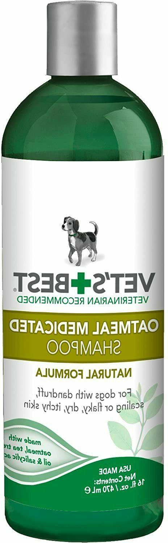 vet s best medicated oatmeal shampoo