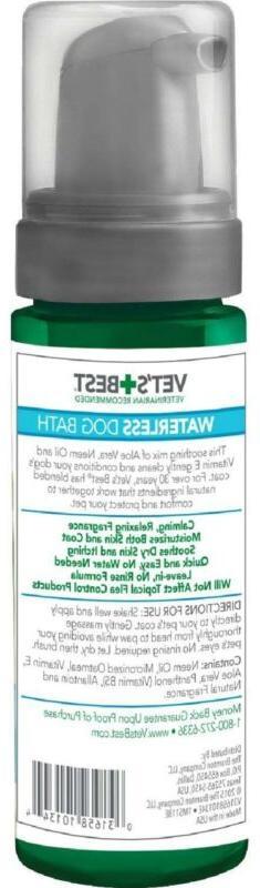Vet's Best Waterless Bath | Shampoo for Dogs No-rinse Formula |