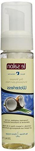 Le Salon 7-Ounce Waterless No Rinse Shampoo, Original