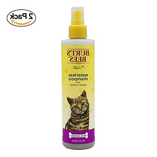 Burt's Bees for Cats Natural Waterless Shampoo with Apple an