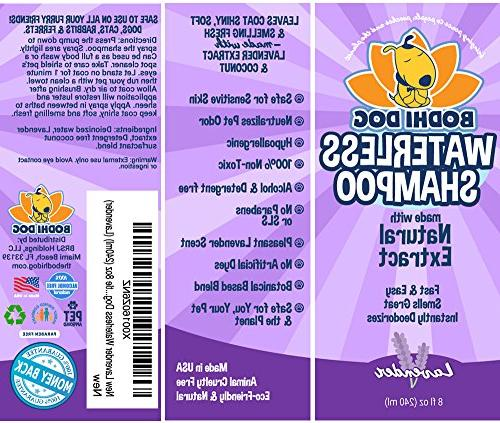 New Dog Shampoo | Natural Shampoo Cats | Non-Toxic Natural Grade Treatment in - Bottle