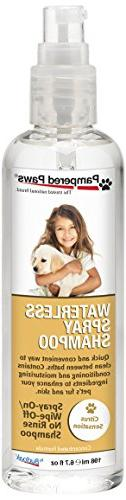 Pampered Paws by Budpak Waterless Spray Shampoo+Leave-in Con