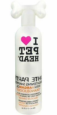 Pet Head White Party Brightening Shampoo, 12oz