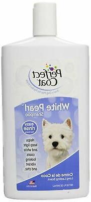Perfect Coat White Pearl Shampoo for Dogs with Coconut Scent