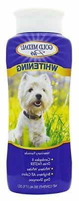 Gold Medal Pets Whitening Shampoo with Cardoplex for Dogs, 1