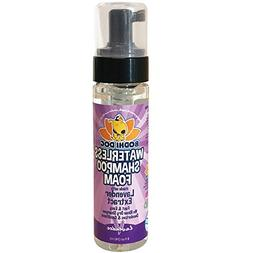 Lavender Dry Shampoo Foam   No Rinse Foaming Cleaner   Water