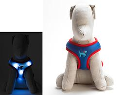 Dog-E-Glow Light Up LED Dog Comfort Harness - Patented Light