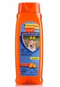 Lot Of 2 Hartz Ultra Guard Dog Shampoo Rid Flea & Tic 18 Oz