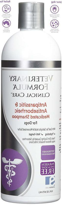 medicated shampoo dog for mange mites scabies